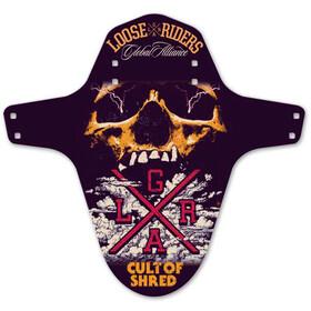 Loose Riders Mudguard, skull